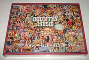 White Mountain Puzzles Country Music 1000 Pc New Sealed