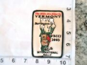 Airstream Travel Trailer Patch 46th International Rally 2003 Wbcci Free Shipping
