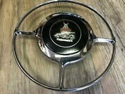 Vintage Rover P4 90 / 100 Classic Car Steering Wheel Horn Ring