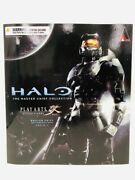 Halo2 Anniversary Edition Play Arts Kai Master Chief Pvc Painted Action Figure