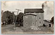 Ontario Nysmokestack Puffsrd By Mill Stlean-to Shed Telephone Pole 1910 Rppc