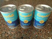 Andy Warhol Campbell's Soup Blind Can Figure Vinyl Or Plush Lot 3 New Kidrobot