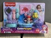 Fisher-price Little People Disney Princess Bath Time With Ariel New