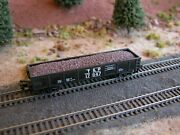 Hay Brothers Crushed Brown Glass Load - Fits Atlas And Bachmann 42 Foot Gondolas