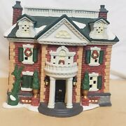 1998 Dickens Collectables Porcelain Lighted House Classic Series Vintage Orig