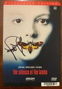 Jodie Foster Autograph Signed Silence Of The Lambs Dvd Photo Beckett Bas Coa