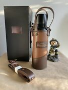Starbucks China 2021 Fathers Day Gift Box 13oz Thermos Cup Leather Cover