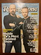 Bryan Cranston Aaron Paul Signed Autograph Rolling Stone Photo Breaking Bad Bas