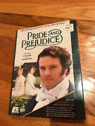 Pride And Prejudice 10th Anniversary Limited Collectors Edition Dvd Set New