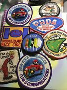 Vintage Car Racing Patches