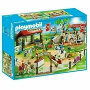 Playmobil Country 70166 Horse Farm Jumping Show Stable Equestrian Playset