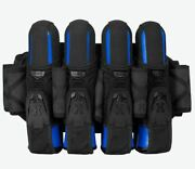 Hk Army Magtek Magnetic Paintball Harness Pod Pack 4+3 Blackout New