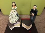Gone With The Wind 1993 Rhett And Scarlett Numbered Music Boxes Ardleigh Elliot