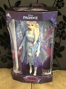 Limited Edition Disney Journey Dress Elsa 17 Doll New Unopened Sold Out