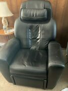 Black Leather Acutouch 9500 Human Touch Ht 9500 Massage Chair Recliner