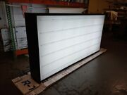 Marque Double Sided Led Light Box Sign 48x96x10and039and039 Extruded Aluminum