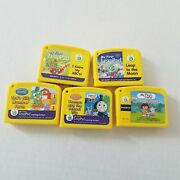 Lot Of 5 Leap Frog My First Leap Pad Preschool Game Cartridges Thomas The Train