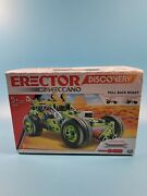 Erector Discovery By Meccano Pull Back Buggy New