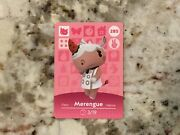 285 Merengue Animal Crossing Amiibo Authentic Nintendo Mint Card From Series 3