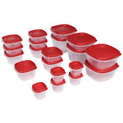 Rubbermaid Easy Find Lids Food Storage And Organization Containers, Set Of 20 4