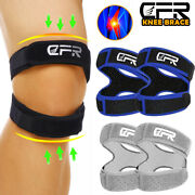 Knee Support Patella Brace Stabilizer Strap Band Tendon Pain Sports Joint Relief