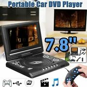 Portable Cable Game 169 Rotate Lcd Tv Home Car Dvd Player Portable Player