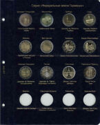Sheet For Commemorative Coins 2 Euro Series Federal Lands Of Germany