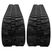 Two Rubber Tracks Fits Ditch Witch Mx27 300x52.5x80 T1 Tread Pattern