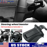 Steering Wheel Booster For Tesla Model 3 Y 2016-2021 Counterweight Ring Us
