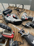 Porter-cable - Cordless - 15 Piece - Tool Set - Batteries And Chargers Included