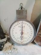 Vintage American Family Hanging Scale - Metal