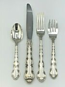 Strasbourg By Gorham Sterling Silver 32 Piece Service For 8 Place Size