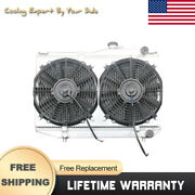 Car Accessories For Toyota Corolla Ae86 84-87 Cooling Fan Shroud Radiator 50mm