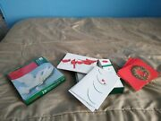 Lot Of 35 Hallmark And Holiday Time Christmas Greeting Cards + Envelopes Cardinal