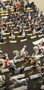 243 Vintage Napoleonic Lead Soldiers British And French Miniature Figurines
