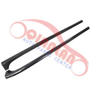 Lefgt+right Side Skirt Carbon Fiber High Quality For Cadillac Cts Cts-v 2013-15