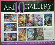 Art Gallery Josephine Wall Fantasy Deluxe Jigsaw Puzzle 10 Pack Sealed