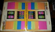 Post-it Super Sticky Notes And Flags Combo Lot 2 Packs Rio De Janeiro Collection