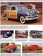 1951 Ford + Convertible + Woody Station Wagon Article - Must See + Crestliner