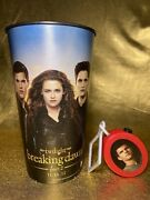 Collectors Twilight Breaking Dawn Part 2 Theatre Coke Cup With Jacob Roaring Toy
