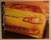 2003 Chevy Monte Carlo Dealership Showroom Brochure - 36 Pages Long - Must See