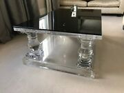 Timothy Oulton Coffee Crystalline Table Acrylic Resin- Ex Display- Rrp Andpound5500