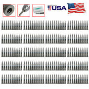 200pcs Straight Nose Cone Dental Low Speed Handpiece Nsk Style G-