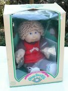 Cabbage Patch Kids Doll Yves Julian 1984 Coleco Blonde Hair Blue Eyes Box 3900