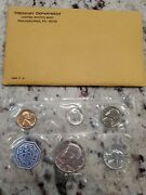 1964 Proof Set United States Mint Original Government Packaging Envelope Silver