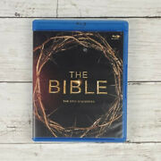 The Bible Epic Miniseries 4 Disc Set Blu-ray 2013 10 Episodes Special Features