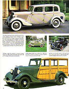 1934 Ford Fordor + Coupe + Woody Wagon Article - Must See