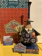 Jim Shore Disney Traditions The Nightmare Before Christmas Mayor Two-face, Rare