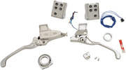 Performance Machine 0062-4021-ch Hand Control Complete Sets Chrome Cable Clutch