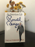 President Ronald Reagan An American Life Signed First Edition